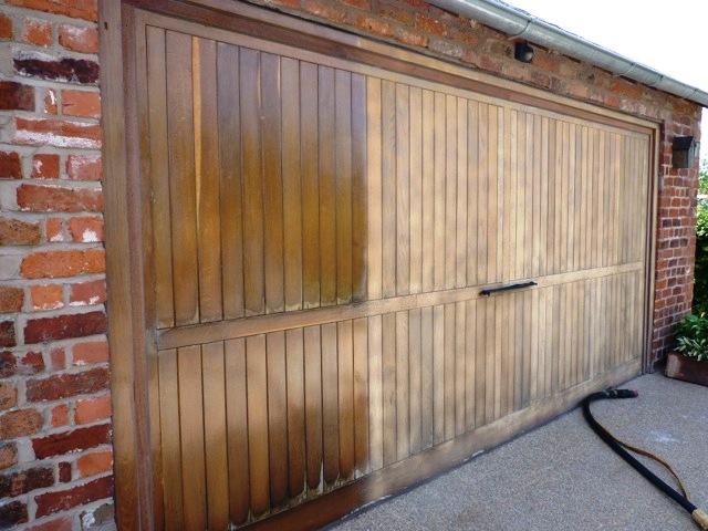 sablage portails et volets bois