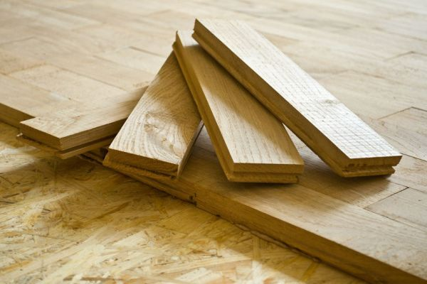 pose parquet collée traditionnelle